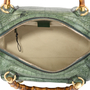 Authentic Pre Owned Gucci Crocodile Bamboo Bag (PSS-420-00065) - Thumbnail 5