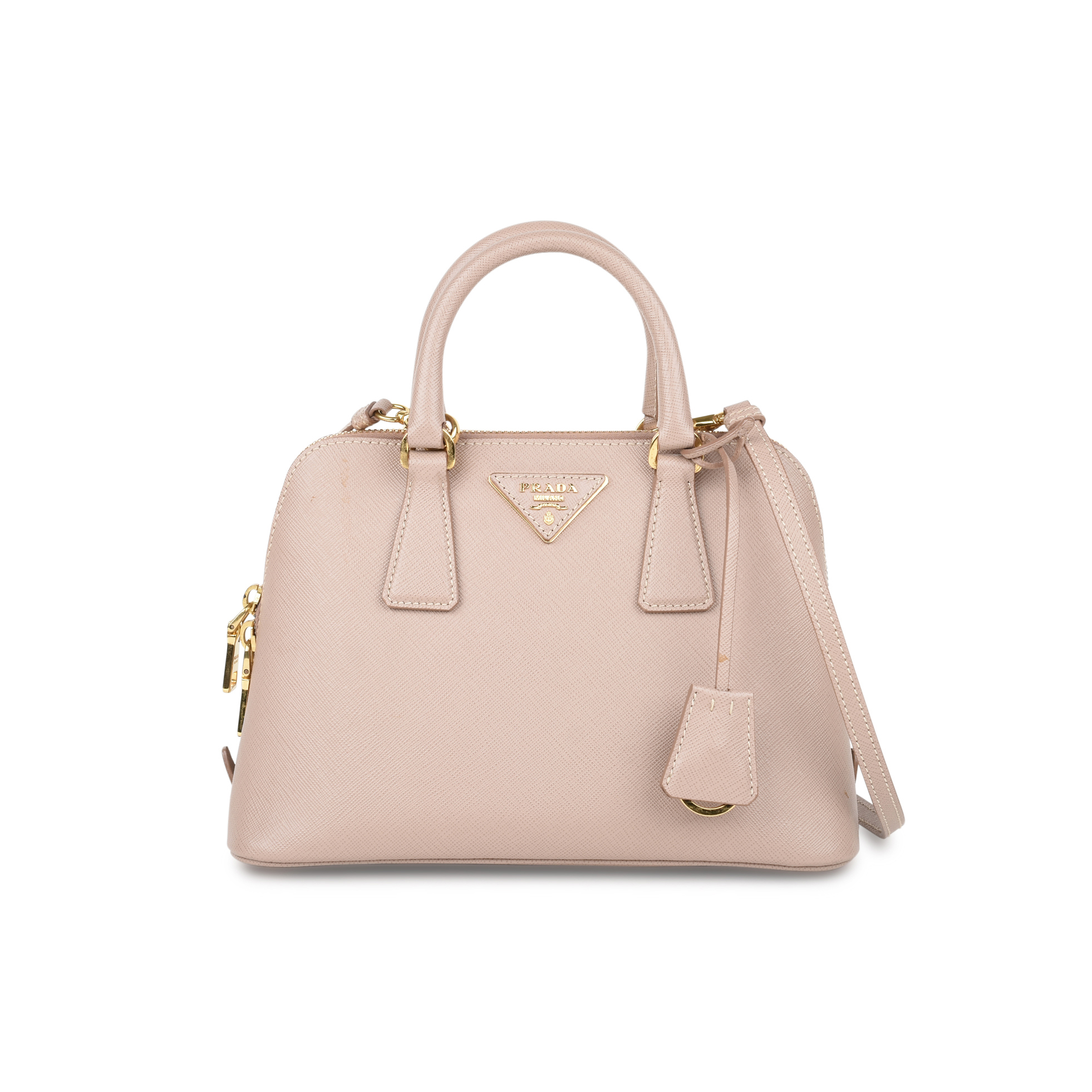 aa3083fabd6c Authentic Second Hand Prada Saffiano Vernice Mini Promenade Bag  (PSS-420-00063) | THE FIFTH COLLECTION