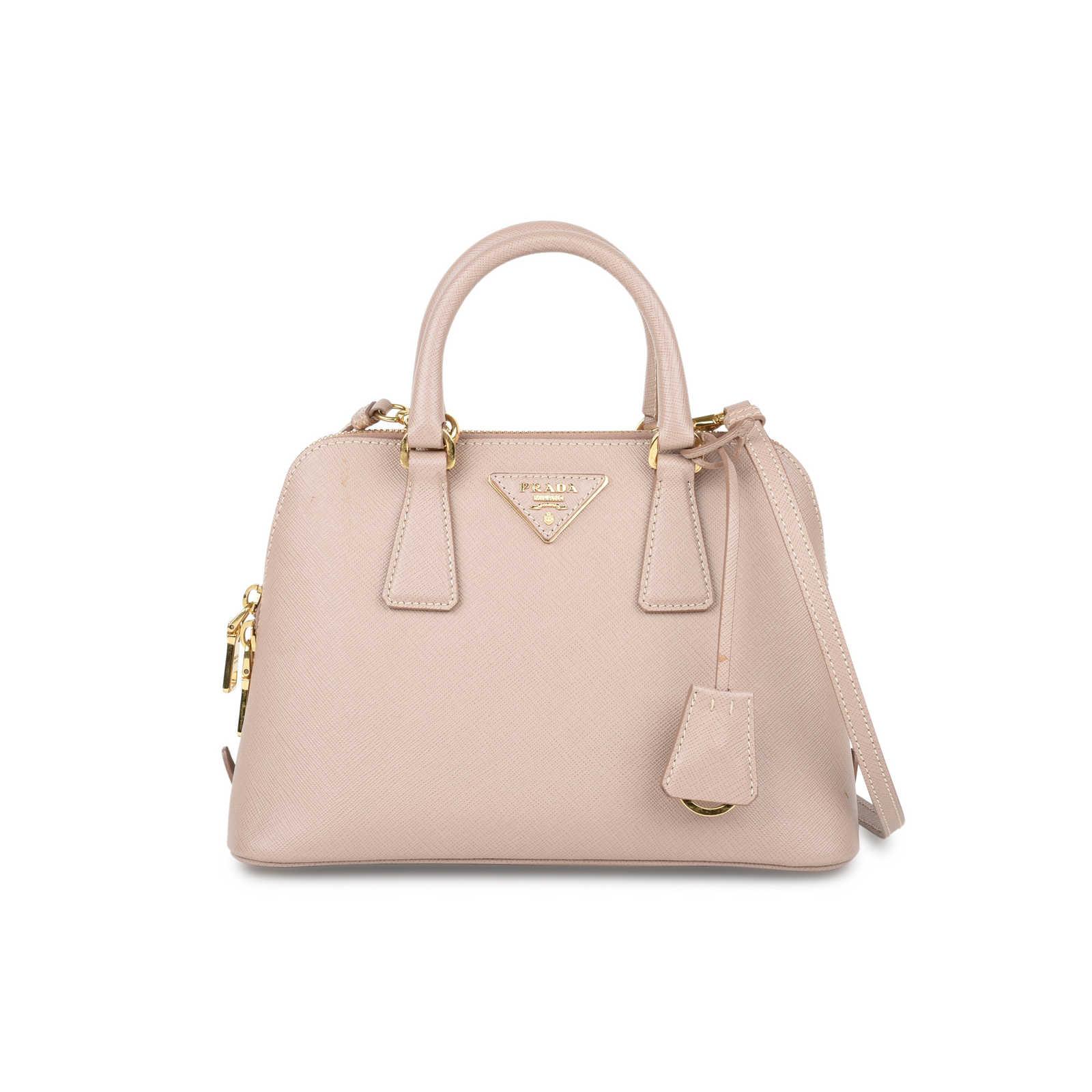 48cf9f79 Authentic Second Hand Prada Saffiano Vernice Mini Promenade Bag (PSS ...