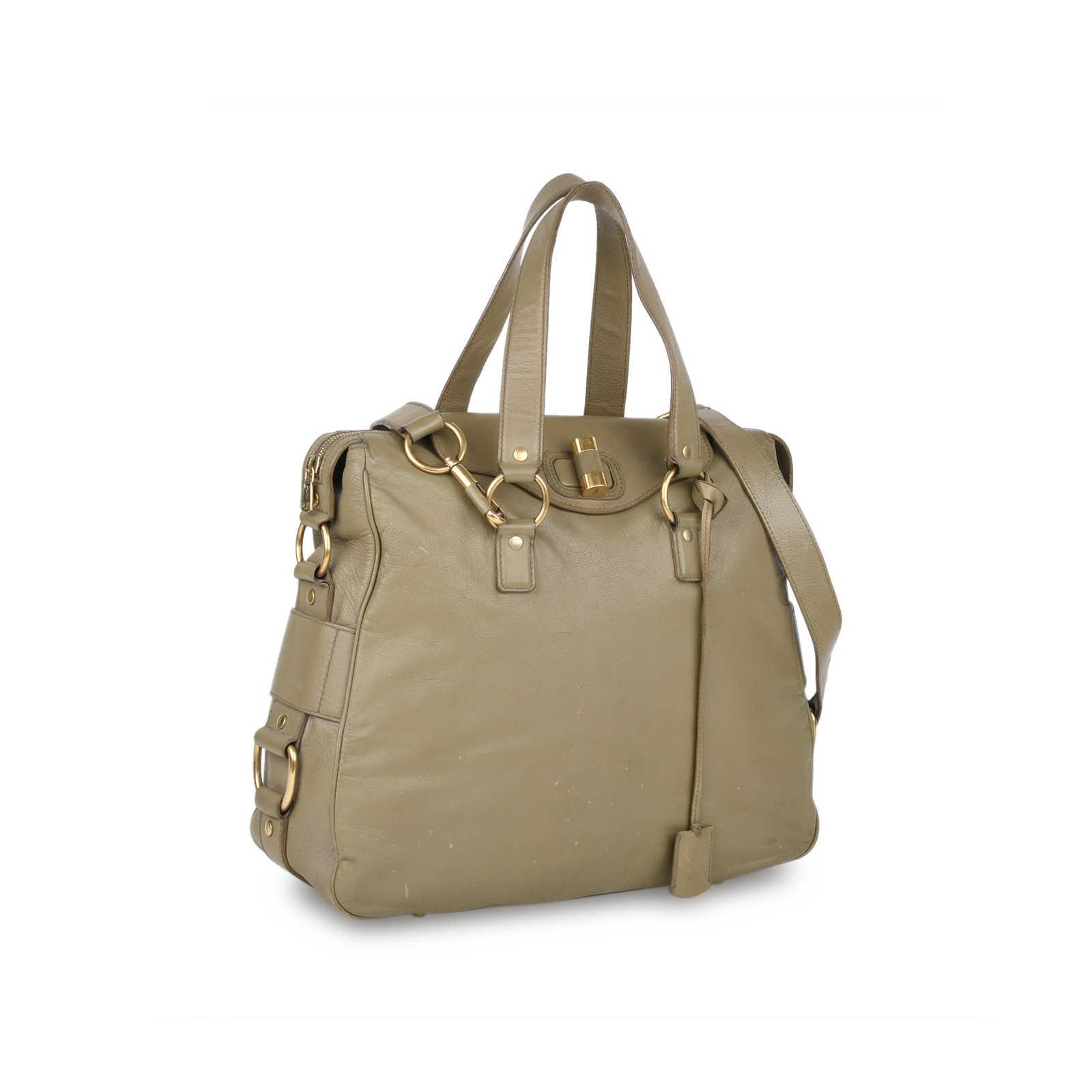 42ce81e1aaf ... Authentic Second Hand Yves Saint Laurent Muse Messenger Bag  (PSS-420-00067) ...
