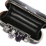 Authentic Pre Owned Alexander McQueen Python Knuckle Clutch (PSS-420-00061) - Thumbnail 7
