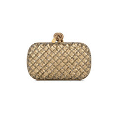 Sequin Knot Clutch