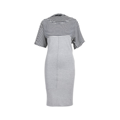 Authentic Second Hand McQ Alexander Mcqueen Striped Top Dress (PSS-493-00006)