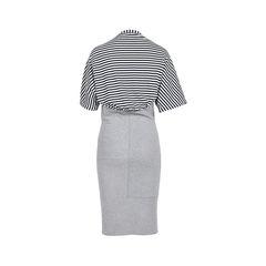 Mcq alexander mcqueen striped top dress 2?1533710895