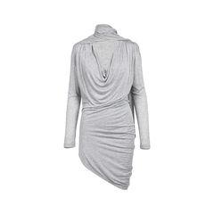 Neck Scarf Dress