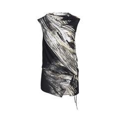 Printed Tie Waist Tunic