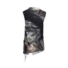 Helmut lang printed tie waist tunic 2?1533711138