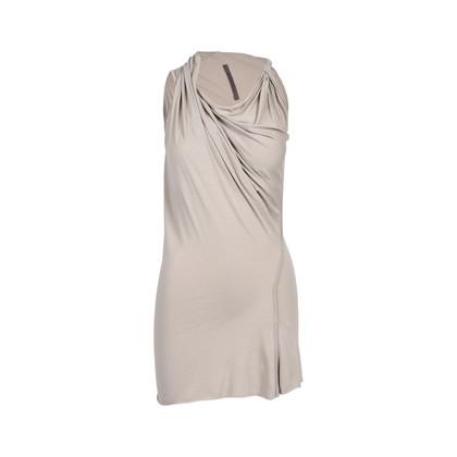 Authentic Second Hand Rick Owens Draped Shoulder Dress (PSS-493-00023)