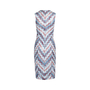 Authentic Second Hand Missoni Chevron Knit Dress (PSS-493-00018) - Thumbnail 1