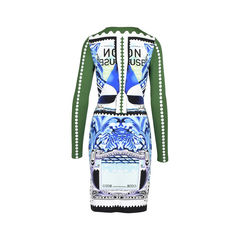 Mary katrantzou printed stretch dress 2?1533712465