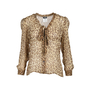 Authentic Second Hand D&G Sheer Leopard Print Blouse (PSS-493-00027) - Thumbnail 0