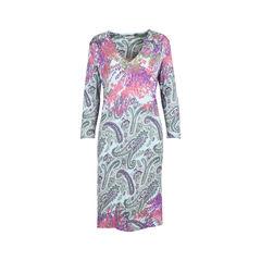 Multicoloured Shift Dress
