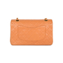 Authentic Pre Owned Chanel Orange Medium Classic Flap Bag (PSS-051-00380) - Thumbnail 2