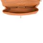 Authentic Second Hand Chanel Orange Medium Classic Flap Bag (PSS-051-00380) - Thumbnail 4