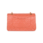 Authentic Pre Owned Chanel Coral Medium Classic Flap (PSS-051-00383) - Thumbnail 2