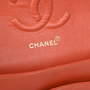Authentic Pre Owned Chanel Coral Medium Classic Flap (PSS-051-00383) - Thumbnail 5