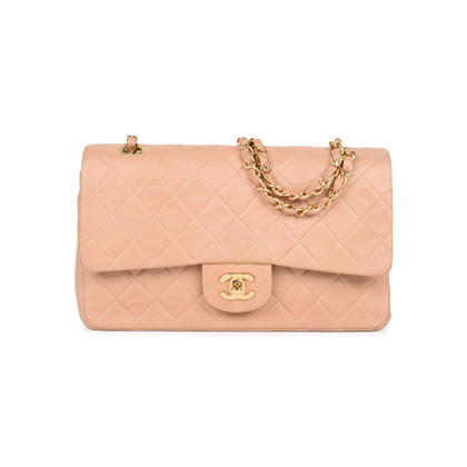 Authentic Second Hand Chanel Blush Pink Medium Classic Flap (PSS-051-00376)