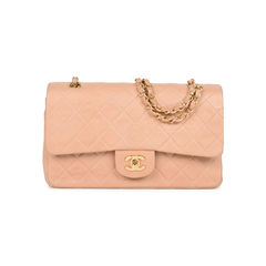 Blush Pink Medium Classic Flap