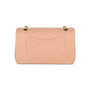 Authentic Second Hand Chanel Blush Pink Medium Classic Flap (PSS-051-00376) - Thumbnail 2
