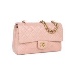 Chanel light dusty rose medium classic flap 2?1533891365