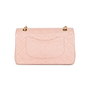 Authentic Vintage Chanel Light Dusty Rose Medium Classic Flap (PSS-051-00385) - Thumbnail 2