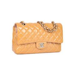 Chanel patent medium classic flap 2?1533891398