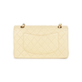 Authentic Pre Owned Chanel Cream Medium Classic Flap Bag (PSS-051-00381) - Thumbnail 2