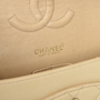 Authentic Pre Owned Chanel Cream Medium Classic Flap Bag (PSS-051-00381) - Thumbnail 5