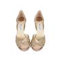 Authentic Second Hand Jimmy Choo Gerda Glitter Sandals (PSS-540-00010) - Thumbnail 0