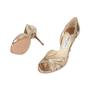 Authentic Second Hand Jimmy Choo Gerda Glitter Sandals (PSS-540-00010) - Thumbnail 1