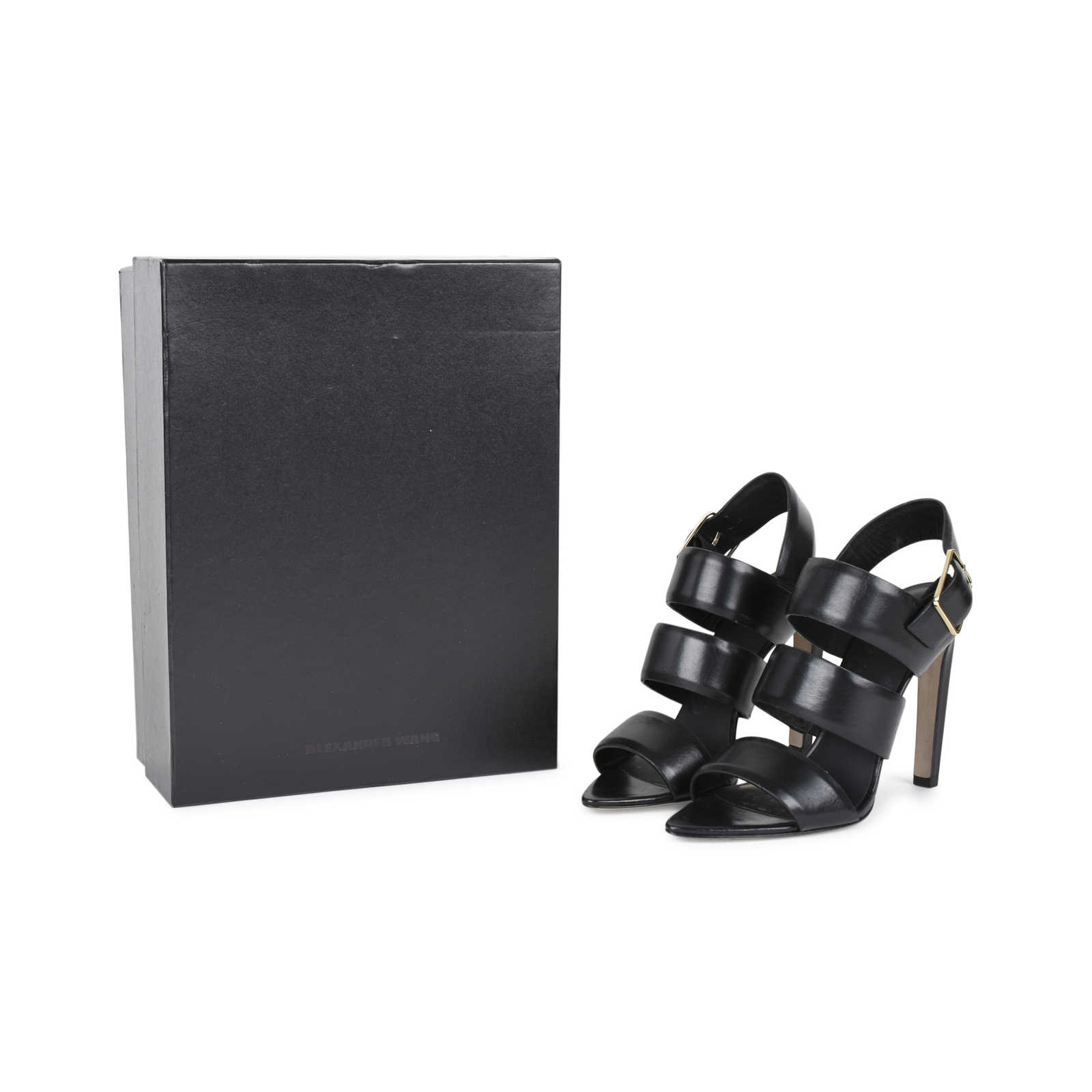 a400c5b08f6 ... Authentic Second Hand Alexander Wang Kerry Slingback Sandals  (PSS-530-00002) -