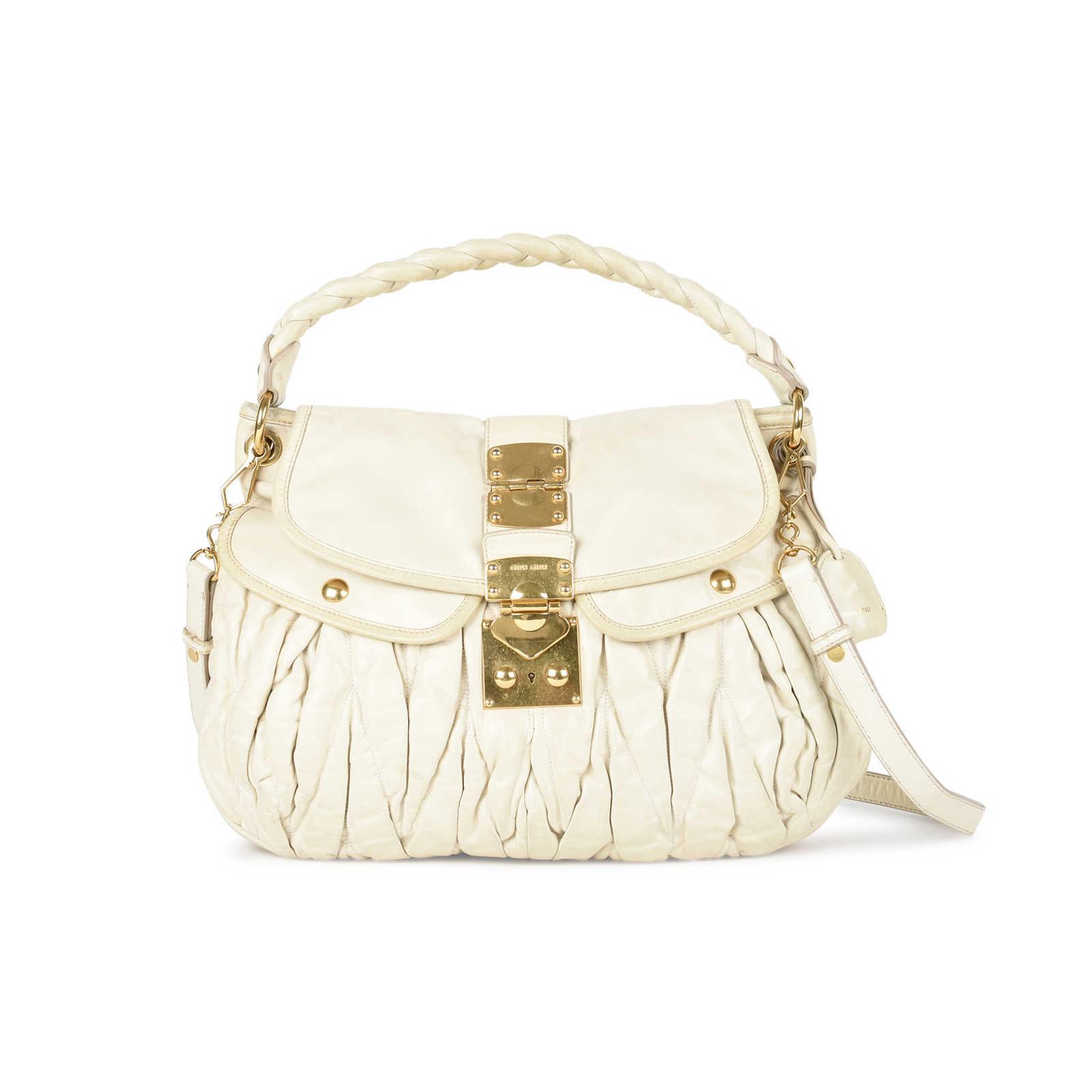 48979d821ccc Authentic Second Hand Miu Miu Coffer Matelesse Hobo Bag (PSS-533-00001) ...