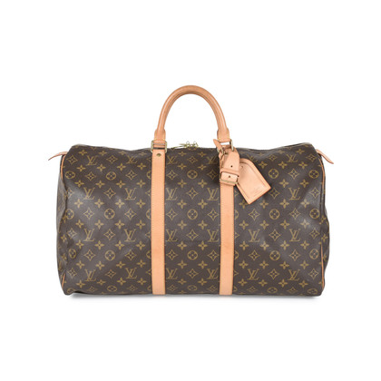 Authentic Pre Owned Louis Vuitton Monogram Keepall 50 (PSS-540-00001)