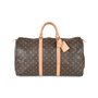 Authentic Second Hand Louis Vuitton Monogram Keepall 50 (PSS-540-00001) - Thumbnail 0