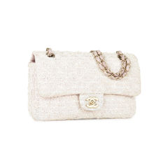 Chanel chanel classic quilted single tweed flap bag 2?1534154410