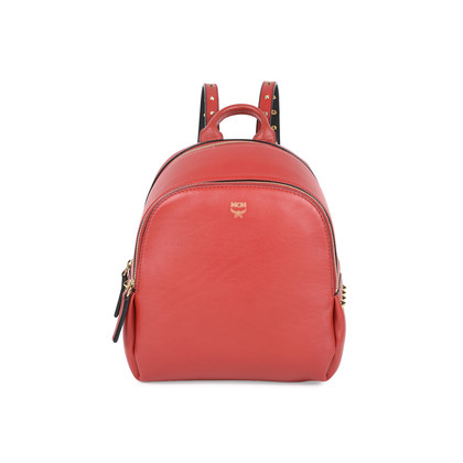 Authentic Pre Owned MCM Mini Duchess Polke Studs Backpack (PSS-520-00001)