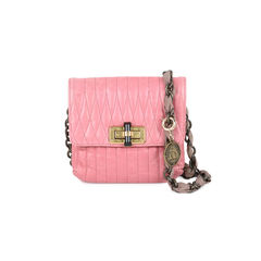Pink Happy Crossbody Bag