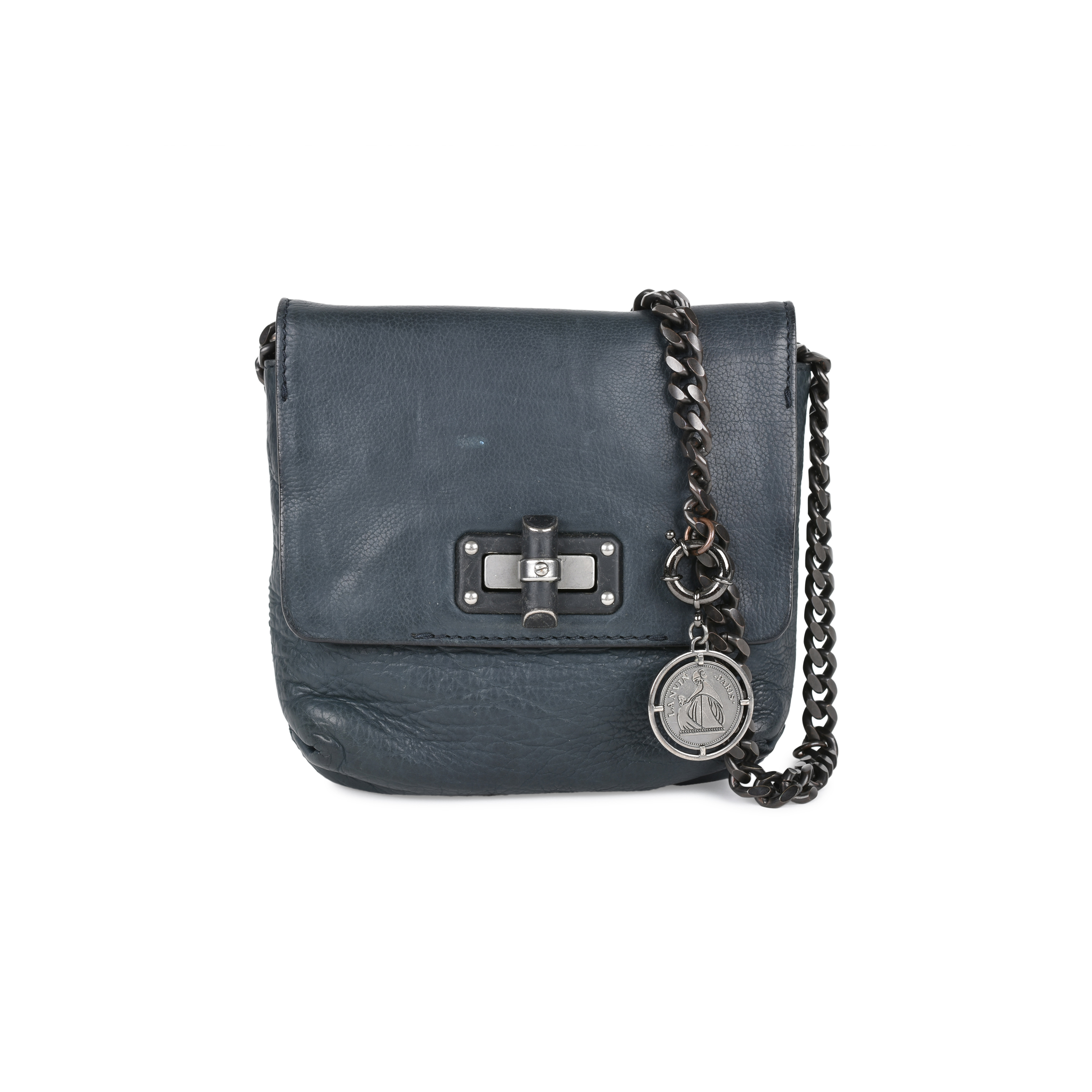 71f640b37 Authentic Second Hand Lanvin Happy Crossbody Bag (PSS-520-00003) - THE  FIFTH COLLECTION