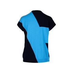 Hermes colour block cashmere cap sleeve sweater 2?1534310259