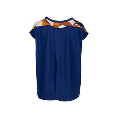 Hermes silk knit slit back blouse 2?1534310845