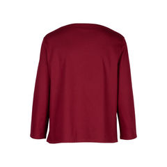 Hermes boat neck blouse with embroidered pocket 2?1534310865