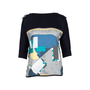 Authentic Second Hand Hermès Zip Sleeve Silk Print Blouse (PSS-051-00396) - Thumbnail 0