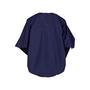 Authentic Second Hand Hermès Textured Batwing Cotton Blouse (PSS-051-00398) - Thumbnail 1