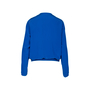 Authentic Second Hand Hermès Blue Silk Cardigan (PSS-051-00399) - Thumbnail 1