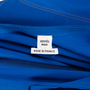 Authentic Second Hand Hermès Blue Silk Cardigan (PSS-051-00399) - Thumbnail 2