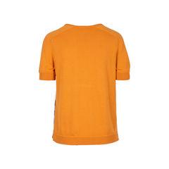 Hermes v neck silk knit blouse 2?1534311608