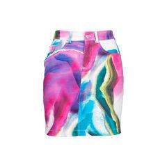 Print Mini Skirt