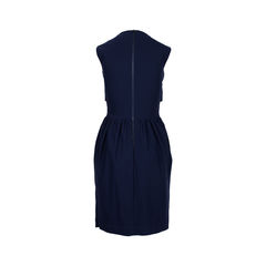 Preen by thornton bregazzi midi panelled dress 2?1534409928