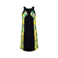 Proenza schouler contrast panel dress 2?1534410442
