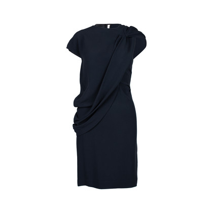 Authentic Second Hand Prada Draped Front Dress (PSS-228-00051)